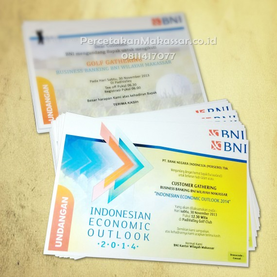 Cetak Undangan Event di Makassar